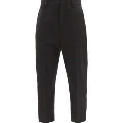 Jacquemus - Gardian Cropped Tailored Trousers - Womens - Black found on Bargain Bro UK from Matches UK