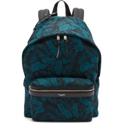 Saint Laurent - City Leaf-print Canvas Backpack - Mens - Multi found on Bargain Bro UK from Matches UK