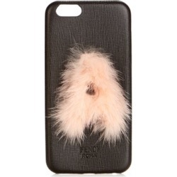 Fendi - Leather Iphone® 6 Case - Womens - Black Pink found on Bargain Bro Philippines from Matches Global for $100.00