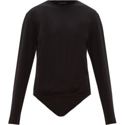 ATM - Long-sleeve Cotton-jersey Bodysuit - Womens - Black found on Bargain Bro Philippines from Matches Global for $58.00