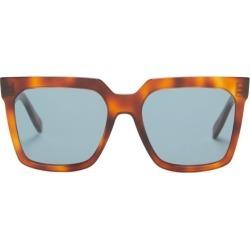 Celine Eyewear - Square Acetate Sunglasses - Womens - Tortoiseshell found on Bargain Bro UK from Matches UK