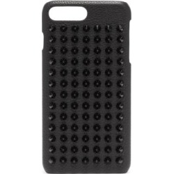 Christian Louboutin - Loubiphone Spike Leather Iphone® 8+ Case - Mens - Black found on Bargain Bro UK from Matches UK
