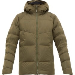 Mammut Delta X - Zun In Hooded Down Jacket - Mens - Khaki found on Bargain Bro India from MATCHESFASHION.COM - AU for $302.39