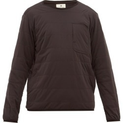 Snow Peak - Flex Insulated Pullover Sweatshirt - Mens - Black found on Bargain Bro India from MATCHESFASHION.COM - AU for $120.29