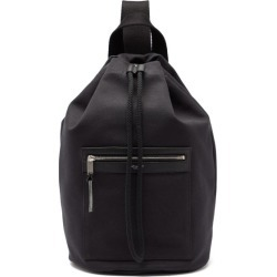Saint Laurent - Drawstring-top Canvas Backpack - Mens - Black found on Bargain Bro UK from Matches UK