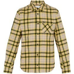 Aztech Mountain - Baldwin Checked Cotton Shirt - Mens - Yellow Multi found on MODAPINS from MATCHESFASHION.COM - AU for USD $566.45