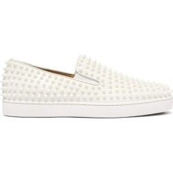 Christian Louboutin - Baskets sans lacets en cuir à picots Roller-Boat found on Bargain Bro Philippines from matchesfashion.com fr for $1137.50
