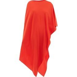 Etro - Positano Asymmetric Silk Poncho - Womens - Red found on Bargain Bro UK from Matches UK