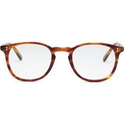 Garrett Leight - Kinney Round Acetate Glasses - Mens - Tortoiseshell found on MODAPINS from Matches Global for USD $330.00