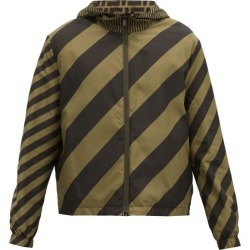 Fendi - Ff Logo-print Reversible Jacket - Mens - Brown Multi found on Bargain Bro Philippines from MATCHESFASHION.COM - AU for $2094.18