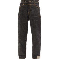 Jacquemus - Topstitched Relaxed-leg Jeans - Mens - Navy found on Bargain Bro UK from Matches UK
