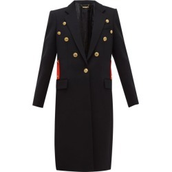 Givenchy - Single-breasted Wool-twill Coat - Womens - Black Red found on Bargain Bro Philippines from MATCHESFASHION.COM - AU for $3254.32