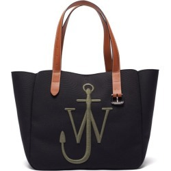 JW Anderson - Belt Anchor-embroidered Canvas Tote Bag - Mens - Black Multi found on MODAPINS from Matches UK for USD $512.49