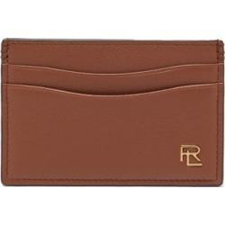 Ralph Lauren Purple Label - Logo-appliqué Grained-leather Cardholder - Mens - Tan found on Bargain Bro UK from Matches UK