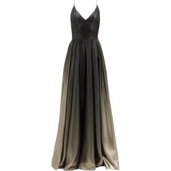 Givenchy - V-neck Ombré Silk-blend Lamé Gown - Womens - Khaki Multi found on Bargain Bro Philippines from MATCHESFASHION.COM - AU for $6435.61