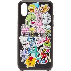 Vetements - Monsters Iphone® Xs Leather Phone Case - Womens - Multi found on Bargain Bro Philippines from Matches Global for $120.00