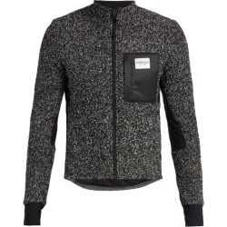 Café Du Cycliste - Funnel-neck Fleece Cycling Jacket - Mens - Grey found on Bargain Bro India from MATCHESFASHION.COM - AU for $193.39