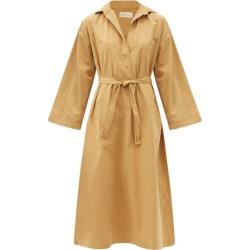 Mes Demoiselles - Robe-chemise ceinturée en coton biologique Marina found on MODAPINS from matchesfashion.com fr for USD $351.00