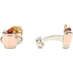 Paul Smith - Whiskey Sour Cufflinks - Mens - Gold Multi found on Bargain Bro UK from Matches UK