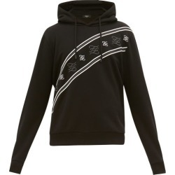 Fendi - Karligraphy-embroidered Cotton Hooded Sweatshirt - Mens - Black found on Bargain Bro Philippines from MATCHESFASHION.COM - AU for $1013.72