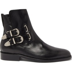 Toga Virilis - Bottes en cuir à boucles found on Bargain Bro Philippines from matchesfashion.com fr for $609.70