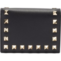Valentino Garavani - Rockstud Leather Wallet - Womens - Black found on Bargain Bro Philippines from Matches Global for $525.00