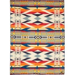 Pendleton - Couverture en coton et laine mélangés Fire Legend