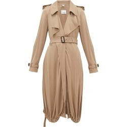 Burberry - Trench-coat en jersey à cordon coulissant