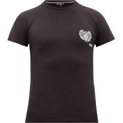 Versace - T-shirt technique à logo brodé