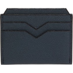 Valextra - Porta Grained-leather Cardholder - Womens - Navy found on Bargain Bro India from Matches Global for $285.00