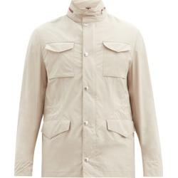 Brunello Cucinelli - Zip-away Hood Lightweight Jacket - Mens - Beige found on Bargain Bro UK from Matches UK