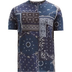 Etro - Paisley Patchwork-print Cotton-jersey T-shirt - Mens - Navy Multi found on Bargain Bro UK from Matches UK