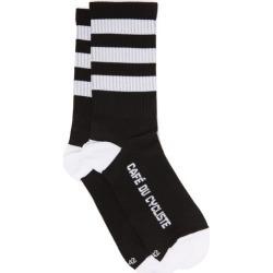 Café Du Cycliste - Skate Stripe Stretch-knit Socks - Mens - Black Multi found on Bargain Bro India from Matches Global for $23.00