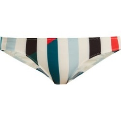 Solid & Striped - The Elle Striped Bikini Briefs - Womens - Blue Multi found on Bargain Bro UK from Matches UK