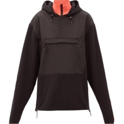 Aztech Mountain - The Hut Fleece-panelled Hooded Sweatshirt - Womens - Black found on MODAPINS from MATCHESFASHION.COM - AU for USD $353.14