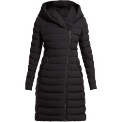 Moncler - Barge Asymmetric-zip Quilted Down-filled Coat - Womens - Black found on Bargain Bro India from Matches Global for $2250.00
