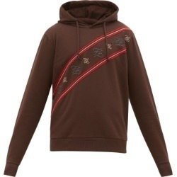 Fendi - Karligraphy Striped Cotton-jersey Sweatshirt - Mens - Brown found on Bargain Bro Philippines from Matches Global for $890.00