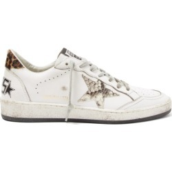 Golden Goose - Ball Star Leather Trainers - Womens - White found on Bargain Bro UK from Matches UK
