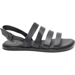 Ann Demeulemeester - Multi-strap Leather Sandals - Womens - Black found on MODAPINS from Matches Global for USD $254.00