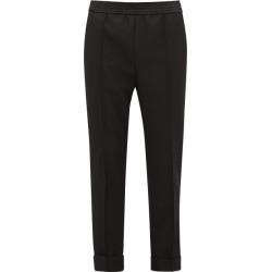 Haider Ackermann - Turned-up Wool Straight-leg Trousers - Womens - Black found on MODAPINS from Matches UK for USD $258.92