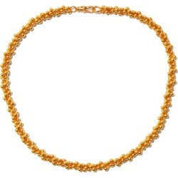 Alighieri - Popcorn 24kt Gold-plated Choker Necklace - Womens - Yellow Gold found on MODAPINS from Matches Global for USD $875.00