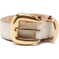 Etro - Chain-embellished Leather Belt - Womens - White Multi found on Bargain Bro UK from Matches UK