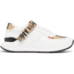 Burberry - Ronnie Leather Trainers - Mens - White Multi found on Bargain Bro from Matches UK for £453