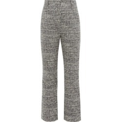 Goat - Joey Kick-flare Tweed Trousers - Womens - Navy found on MODAPINS from Matches Global for USD $230.00