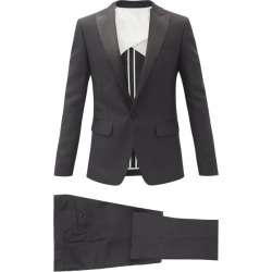 Dsquared2 - London Wool-blend Tuxedo Suit - Mens - Black found on Bargain Bro UK from Matches UK