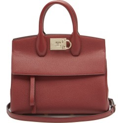 Salvatore Ferragamo - The Studio Grained-leather Bag - Womens - Dark Red found on Bargain Bro UK from Matches UK