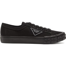 Prada - Tire-sole Canvas Trainers - Mens - Black found on Bargain Bro UK from Matches UK