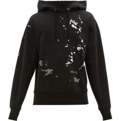 Helmut Lang - Sweat-shirt en coton à logo et imprimé peinture