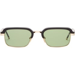 Jacques Marie Mage - Lunettes de soleil rectangulaires Comanche found on MODAPINS from matchesfashion.com fr for USD $815.10