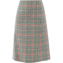 Prada - Prince-of-wales Checked Wool-blend Skirt - Womens - Multi found on Bargain Bro UK from Matches UK